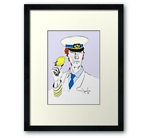 The Lemon has been found. Framed Print