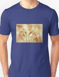 Golden  Calla Lilies T-Shirt