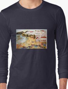 Portuguese town Long Sleeve T-Shirt