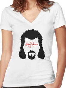 Kenny Powers Women's Fitted V-Neck T-Shirt