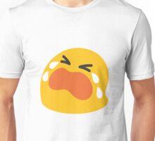 Loudly crying face emoji Unisex T-Shirt