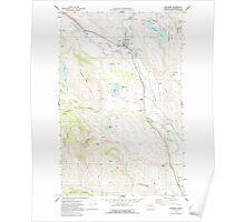 USGS Topo Map Washington State WA Winthrop 244767 1969 24000 Poster