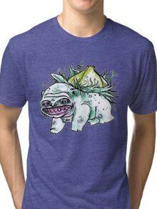 Bowl bah Saw Tri-blend T-Shirt