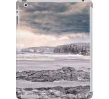 storm clouds with waves iPad Case/Skin