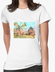 Windmills Womens Fitted T-Shirt