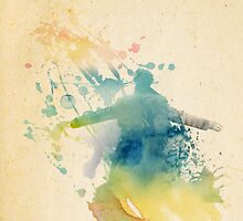 Sherlock Watercolor  by SecondHandShoes