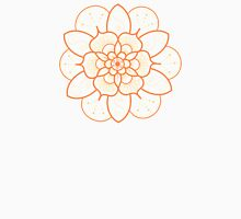 Orange mandala flower on tilt-shifted Gold Coast night lights photo Women's Tank Top