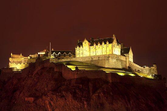 Edinburgh Castle by Svetlana Sewell