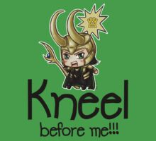 Loki Chibi - Kneel before me by morigirl