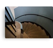 Spiral Stair Canvas Print