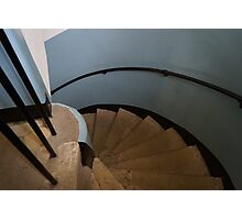 Spiral Stair Photographic Print