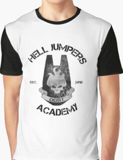 halo hell jumpers academy Graphic T-Shirt