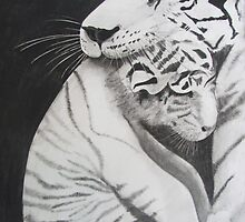 Momma Tiger signed print by originalsbykaty