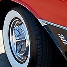 1956 Oldsmobile Holiday 88 Wheel by Jill Reger