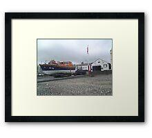 Ramsey Life Boat Station Isle of Man Framed Print