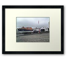 Ramsey Life Boat Station Isle of Man Framed Print