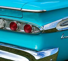 1959 Edsel Corvair Taillights by Jill Reger