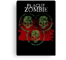 Plague Zombie Canvas Print