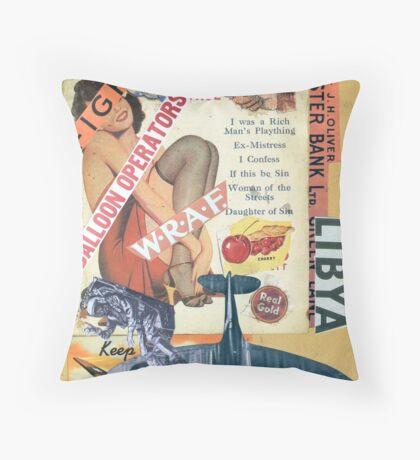 Lybia 45s. Throw Pillow