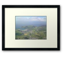 Port Erin From the Air Framed Print