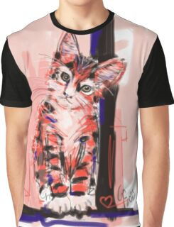 Cat I see you Graphic T-Shirt