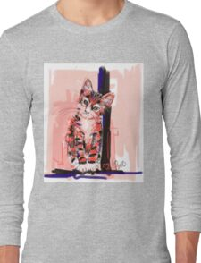 Cat I see you Long Sleeve T-Shirt
