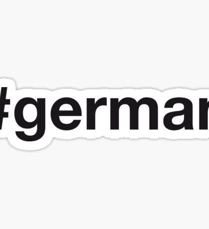 GERMAN Sticker