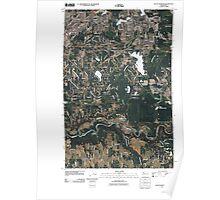 USGS Topo Map Washington State WA Black Diamond 20110422 TM Poster
