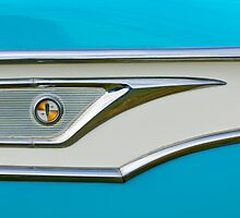 1959 Edsel Corvair Side Emblem by Jill Reger
