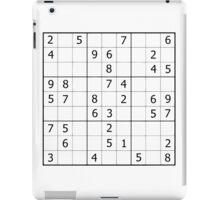Sudoku iPad Case/Skin