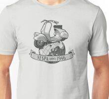 Vespa Anno 1946 Unisex T-Shirt