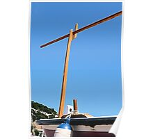 Spanish boat awning support Poster