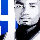 Ibaka Painting by Ray Tennyson