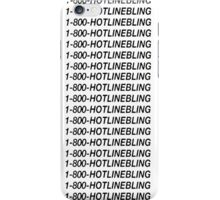 Hotline Bling - Black iPhone Case/Skin