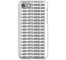 Hotline Bling - Black iPhone Case/Skin