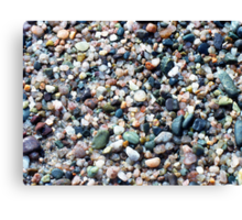 Pebbles Canvas Print
