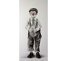 Clown in training Photographic Print