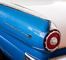 1957 Ford Fairlane Taillight Emblem by Jill Reger