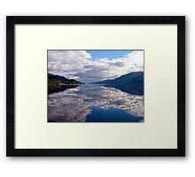 """Loch Ness"", Scotland Framed Print"