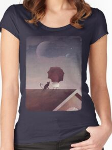 Twin Moon Women's Fitted Scoop T-Shirt