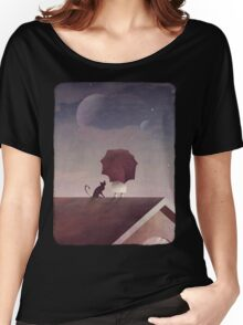 Twin Moon Women's Relaxed Fit T-Shirt