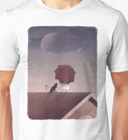 Twin Moon Unisex T-Shirt