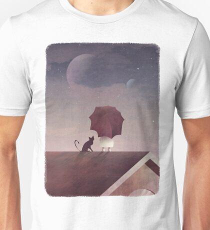 Twin Moon Unisex T-Shirt