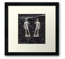 Marble Michelangelo Framed Print
