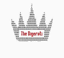 The Digerati artwork (black version) Unisex T-Shirt
