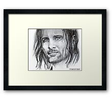 Viggo , featured in Group-Gallery of Art and Photography Framed Print