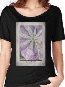 Clematis Miniseelik Women's Relaxed Fit T-Shirt
