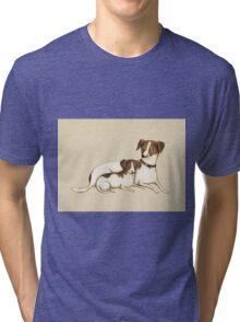 Jack Russels Tri-blend T-Shirt