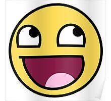 Original LOL Face Emoji  Poster