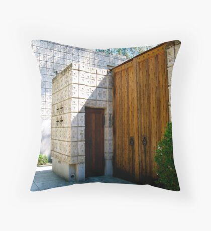 The Millard House by Frank Lloyd Wright Throw Pillow